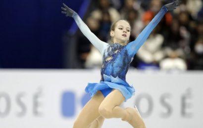 VIDEO: Rusinja Trusova kot prva na svetu izvedla četverni lutz