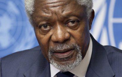 Umrl nekdanji generalni sekretar ZN-a Kofi Annan
