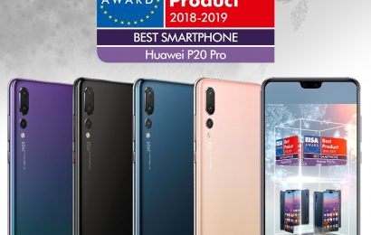 "Huawei prejel nagrado EISA ""Best Smartphone of the Year"" za Huawei P20 Pro"