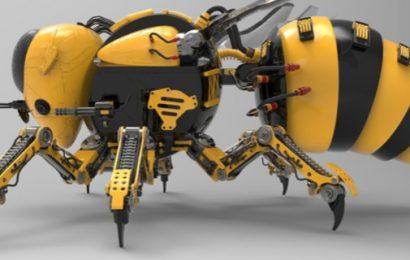Ali bodo v rastlinjakih kmalu poletele robotske čebele iz Rusije?