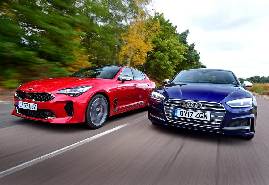 Kia Stinger VS Audi S5