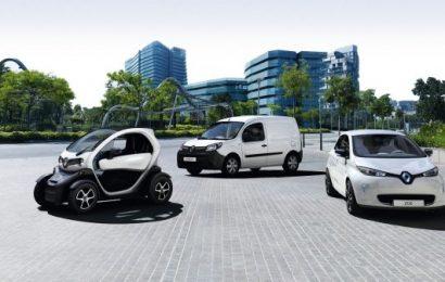 Vozite električno vozilo Renault