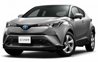 Eko subvencija ob nakupu Toyote CHR