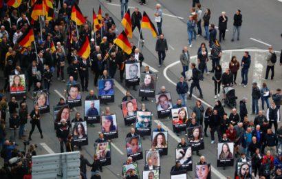 V Chemnitzu v Nemčiji že sedmi dan protestov