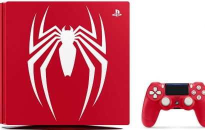 Na voljo je Limited Edition Playstation 4 Spider Man konzola z igro