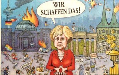 Škandal! Angela Merkel Nemčijo pripeljala v krizo. Slovenski mediji molčijo!