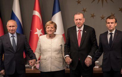 Skupna stališča glede Sirije: Francija, Nemčija, Turčija in Rusija
