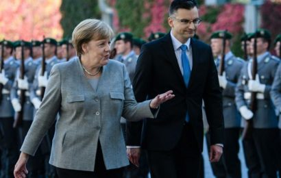 Šarec na obisku v Nemčiji