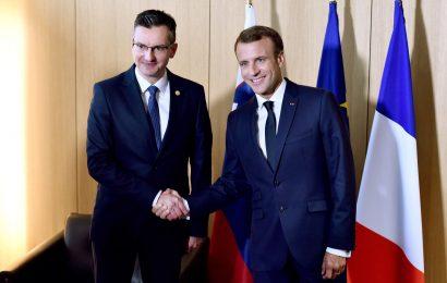 Močnejše vezi med Slovenijo in Francijo