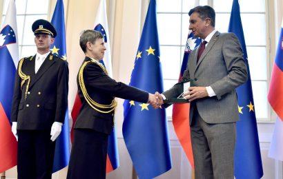 Slovenija dobila prvega generala ženskega spola