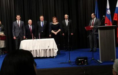 Visok Ruski obisk v Vitanjah v Sloveniji