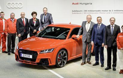 Madžarski Audi delavci stavkajo