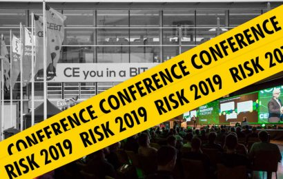 Where to go now that CeBIT is gone? Join us at RISK conference 2019!