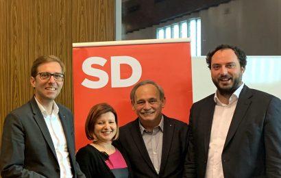 Novo vodstvo v Ljubljanskem SD