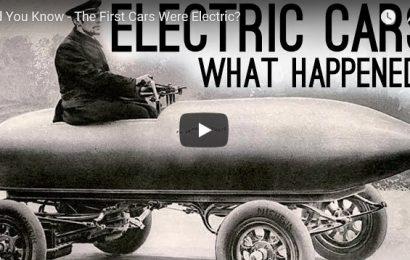 Razbijamo mite: Električni avtomobili niso nova iznajdba. Prvi avtomobili so bili električni!