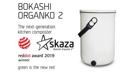 Bokashi Organko 2 prejel nagrado Red Dot Award 2019