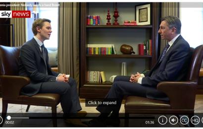 Pahor: EU bi lahko odobrila kasnejši Brexit