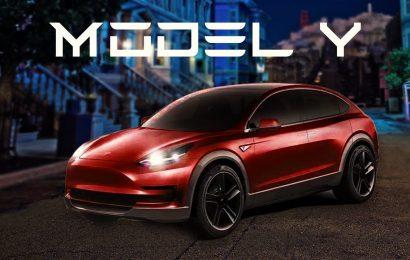 Tesla ponoči predstavil model Y