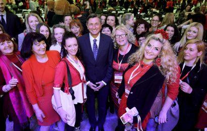 500 podjetnic in Borut Pahor
