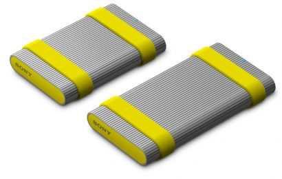 Sony predstavil izjemno trpežna in hitra zunanja trda diska SSD