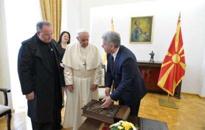 Papež vzpodbuja Severno Makedonijo k pridružitvi v EU