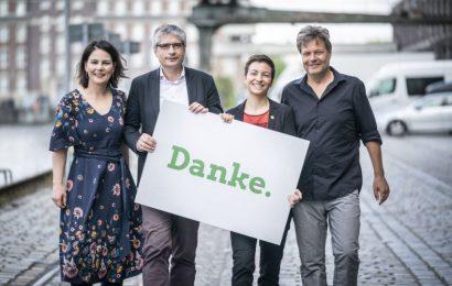 Hvala! Nemški zeleni z odličnim rezultatom na EU volitvah