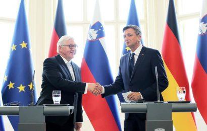 Frank Walter Steinmeier v Sloveniji