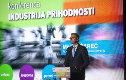Marjan Šarec obiskal konferenco industrija prihodnosti