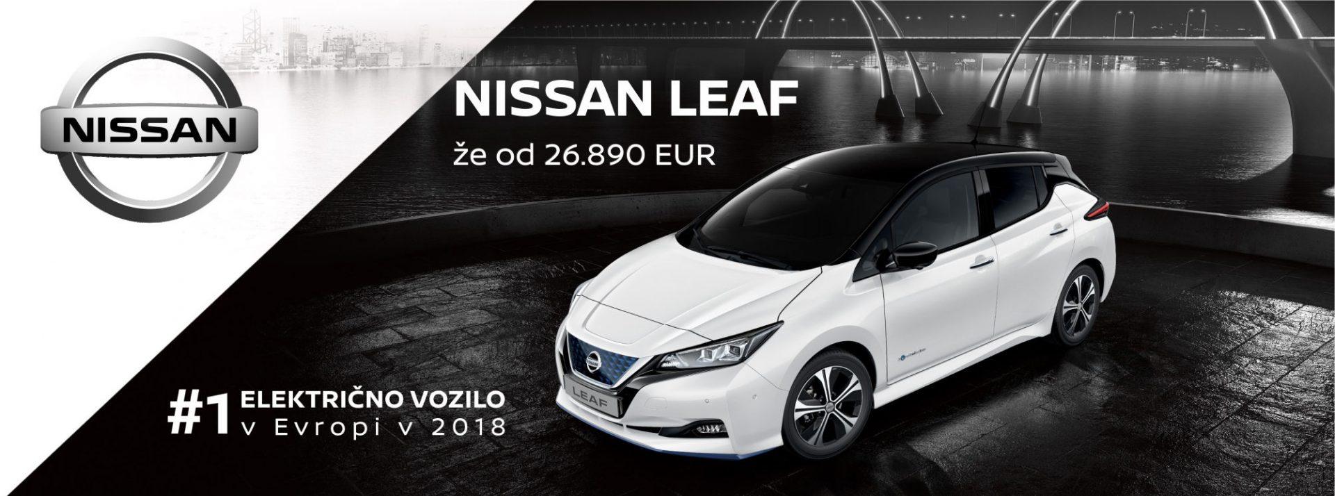 Nissan LEAF - Avto Koletnik