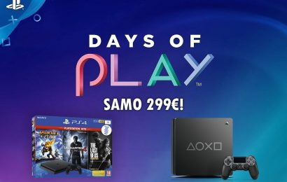 Days of play! Nove nižje cene za PS4 in Sony VR!