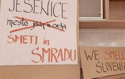 Slovenija: Nastaja civilna iniciativa proti smradu