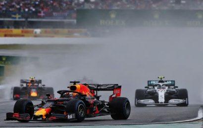 Formula 1: Kralj dežja Verstappen zmagal dirko v Hockenheimum Vettel drugi