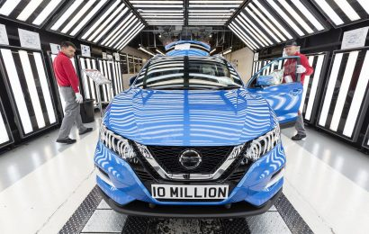 Nissan izdelal že 10 milijonov vozil
