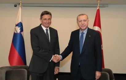 Borut Pahor srečal Turškega predsednika