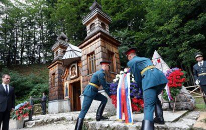Bliža se velika slovesnost ob Ruski kapelici, ki bo v znamenju obletnic!