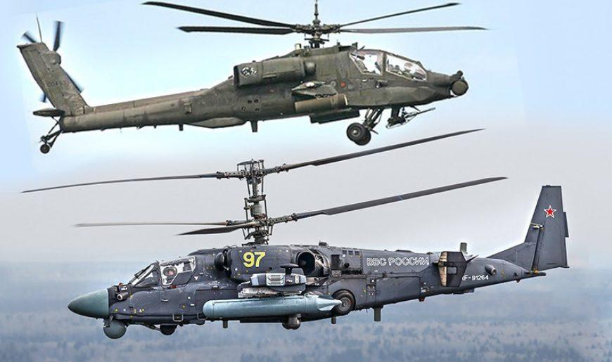 Ameriški portal: Imamo samo »Apače«, medtem ko imajo Rusi Mi-28, Ka-52 in Mi-35