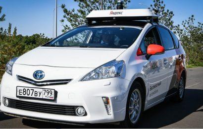 Yandex je zagnal prvi taksi brez voznika v Evropi