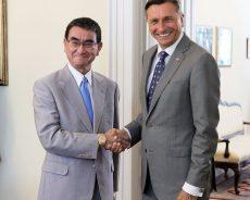 Visok Japonski obisk v Sloveniji