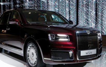 Obelodanjena tržna vrednost avtomobila Aurus Senat Sedan