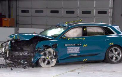 Audi e-tron prejel najvišjo oceno za varnost institucije IIHS