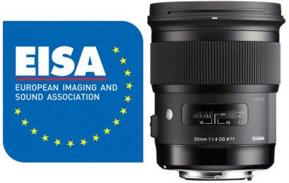 Sony prejemnik kar sedmih nagrad priznane organizacije EISA