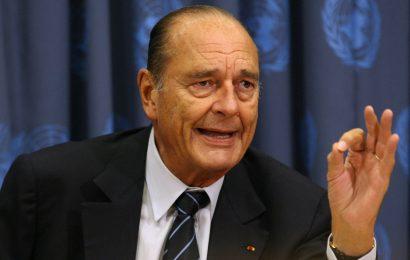 Umrl je Jacques Chirac ex-Francoski predsednik