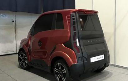 Rusija z letom 2020 na trg pošilja najcenejši električni avtomobil na svetu