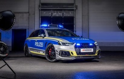Policijski Audi RS4-R na Hankook gumah