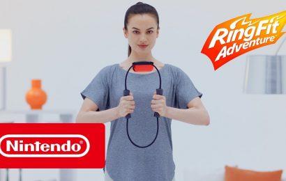 Nintendo predstavil novo fitnes igro Ring Fit adventure. Odlično.