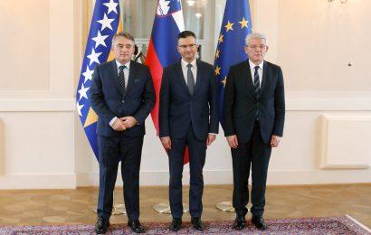 Uradni obisk Bosne in Hercegovine v Sloveniji