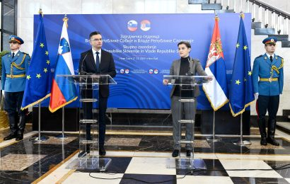 Vezi med Slovenijo in Srbijo vedno močnejše