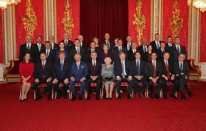 Sprejem za vodje NATO delegacij pri kraljici