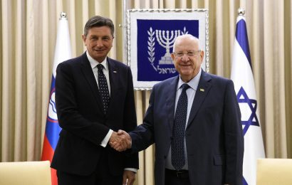 Predsednik Pahor začel obisk v Jeruzalemu s srečanjem z izraelskim predsednikom Rivlinom