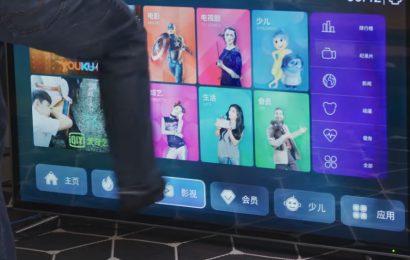 Kitajski TV v katerega lahko brcate in se ne zlomi!!